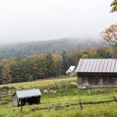 Random barns and farms along the way.